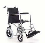 The Z-Tec ZT -600-604 Folding Steel Transit Chair